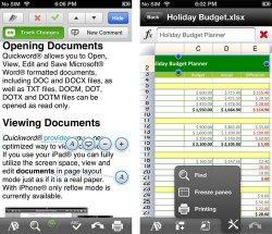 Quickoffice gratis statt 7,99€ für Android oder iOS