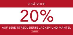 Sale + 20% Zusatzrabatt (Jacken und Mäntel) + 10 Euro Gutschein im Markenshop Van Graaf