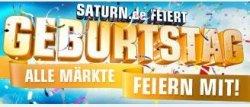 saturn.de feiert 2-jährigen Geburtstag: täglich ab 19Uhr Jubelangebote – nur bis 02.10.