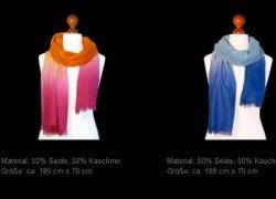 Seiden-Tücher und Kaschmir-Schals im SSV @laube-fashion.de + 30% Gutscheincode