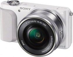 Sony NEX-3NLW Systemkamera refurbished (Full-HD, HDMI, USB 2.0) inkl. SEL-P 16-50mm Objektiv für 265 Euro (statt 360,90 Euro Idealo) bei Sony Outlet