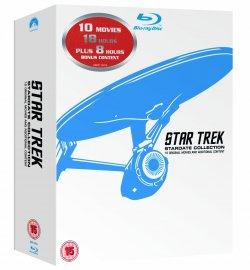 Star Trek Filme 1-10 Remastered BOX Blu-ray UK-Import mit deutscher Tonspur für 71,29€ incl. Versand!