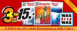 Was ist Was DVDs – 3 für 15€ Aktion @MediaMarkt