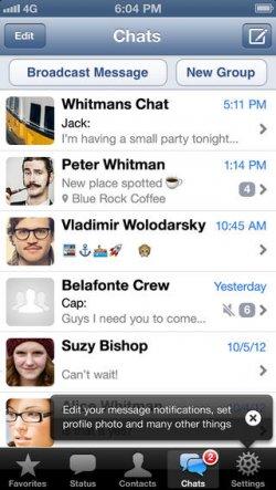 WhatsApp Gratis für Apple iOS statt 0,89 Euro im iTunes-Store