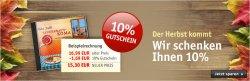 10% Rabatt auf fast Alles, z.B. günstige Filme oder Bücher @Buch.de
