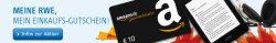 10€ Amazon Gutschein für RWE-Kunden