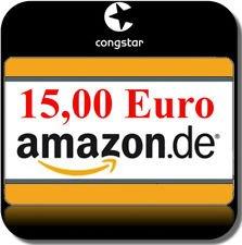 10€ Congstar Karte + Prämie (zb. 15€ Amazon Gutschein)  für nur 9,99€ @ebay