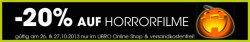 20% Rabatt auf Horrorfilme bei Libro