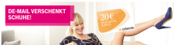20€ Zalando-Gutschein für kostenlose De-Mail Anmeldung