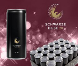 24 Energy Drink Dosen -Schwarze Dose 28- für 24,90 € (Idealo 39,49 €) @Countydeal