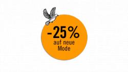 25% auf neue Mode @Boozt