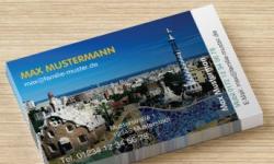 250 Exklusiv-Visitenkarten (volle Gestaltungsfreiheit) + kleiner Stempel für 5,99 € inkl. Versand @vistaprint.de