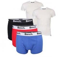 2er Pack Bench T-Shirts €24.15  + gratis (0,59€) 3er Pack Bench Boxers