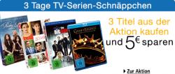 3 Tage TV Serien Schnäppchen bei Amazon