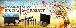40% Rabatt auf das gesamte Sortiment von BH Cosmetics