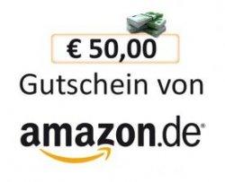 50 Euro Amazon Geschenk-Gutschein kaufen und 10 Euro Gutschein dazu erhalten
