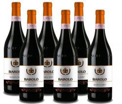 6 Flaschen Vinum Vita Est – Prachtvoller Barolo Riserva 54,99 € statt 178,44€