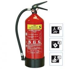 6 Liter GEV FLS 3460 Schaum-Feuerlöscher für 50,95€ (statt 82€) @plus.de