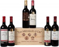 6er Set Goldprämierte Bordeaux-Selektion aus 2009-2011 für nur 24,99€ [sonst 40€] @weinvoteil.de mit Gutschein