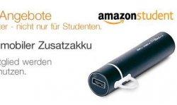Amazon Student Tagesangebot: MiPow SP2600M-BK Power Tube 2600 mobiler Zusatzakku für nur 19,99€