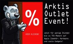 Arktis.de Outlet Event mit bis zu 75% – nur heute! (z.B. iPod, iPad-Zubehör,…)