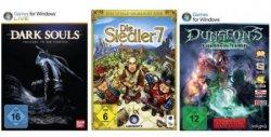 Bei Amazon: PC-Games der Woche als Download, z.B. Siedler 7 ab 4,97€ oder Dark Souls – Prepare to Die Edition für 7,97€