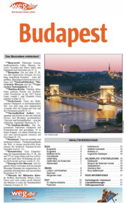 Budapestreise geplant? Kostenloser Reiseführer im E-Book Fomat @Top Holidays