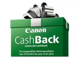 Canon Cashbackaktion für ausgewählte Kameras, Camcorder und Zubehör, nur vom 25.10.13 bis 1.1.14, bis zu 250€