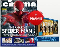 Cinema Jahresabo + James Bond 50 Jubiläums-Collection auf Blu-ray für 99 Euro (statt Preisvergleich 189 Euro)