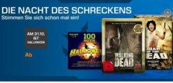 Filme, Musik und Hörbücher ab 3,99 Euro zu Halloween bei Saturn