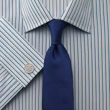 Für 20€ Gratis einkaufen! z.B. Hemd Slim Fit Hatfield Streifen grau & blau für effektiv 0€ statt 110€ nur 6,90€ Versand @Charles Tyrwhitt