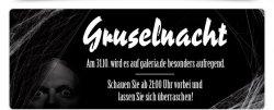 nur heute bis 9 Uhr: Gruselnacht bei Galeria Kaufhof, Halloween-Special