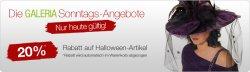 Galeria Kaufhof Sonntagsangebote mit 20% Rabatt + diverse Gutscheine