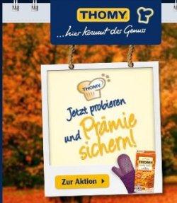 Gratin Saucen von Thomy: 3 Saucen kaufen und Prämie erhalten oder Geld zurück