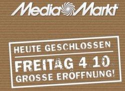 Grösste Eröffnung des Jahres bei MediaMarkt.de am 4. Oktober