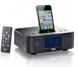 iTeufel Clock v3 – UKW Radiowecker mit integriertem iPhone/iPod Dock für 49,99 Euro (statt 102,28 Euro Idealo) bei eBay