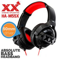 JVC Xtreme Bügel-Kopfhörer mit Mega-Bass für 35,90 € (Idealo 49,94 €) @iBOOD Extra