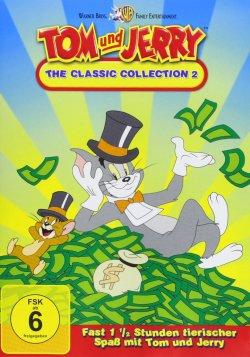 Komplettbox mit  Spieldauer: 1074 Minuten / 12 DVD`s Tom & Jerry für 14,97€ bei amazon
