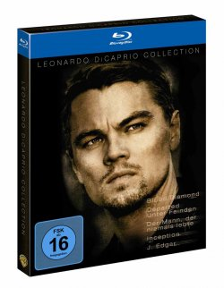 Leonardo DiCaprio Collection auf Blu-ray (5 Filme) für 24,97€ @Amazon