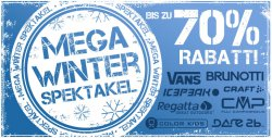 Mega-Winter-Spektakel mit bis zu 70% Rabatt @Plutosport