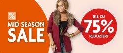 Mid Season Sale bis zu 75% Rabatt @Schwab