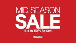 Midseason-Sale bei H&M mit bis zu 50% Rabatt + 25% Gutschein + 5 € Gutschein