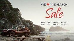 Midseason Sale bei Tom Tailor  mit bis zu 50% Rabat