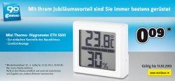 Mini Thermo-/Hygrometer für 0,09€ ab 10€ MBW @Conrad.de