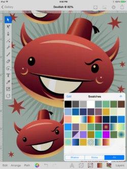 Mit Inkpad App professionell Vektorgrafiken erstellen – Im Moment gratis bei iTunes (statt 4,49 Euro)