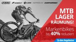 Mountainbikes knallhart reduziert – bis zu -40% @fahrrad.de