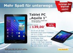 Neues Eröffnungsangebot @ Netto-Online Shop, Tablet PC für 139,00 € (Idealo 159 €)