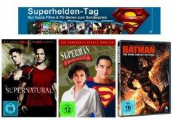 Bei Amazon: Nur heute – Superhelden Tag: DVDs ab 4,97€ und Blu-rays ab 7,76€