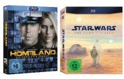 Nur noch heute: DVD und Blu-ray Wochenend Angebote bei Amazon, z.B. Homeland Season 1 ab 17,97€