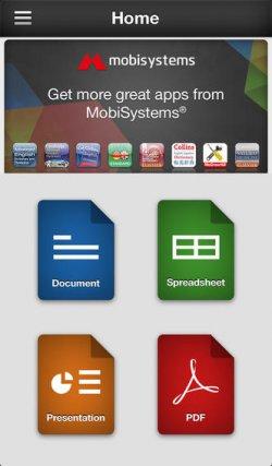 OfficeSuite Professional für iOS Geräte gratis im iTunes Store
